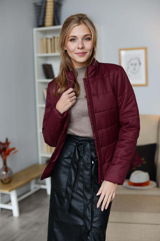 куртка женская 99584 бордо