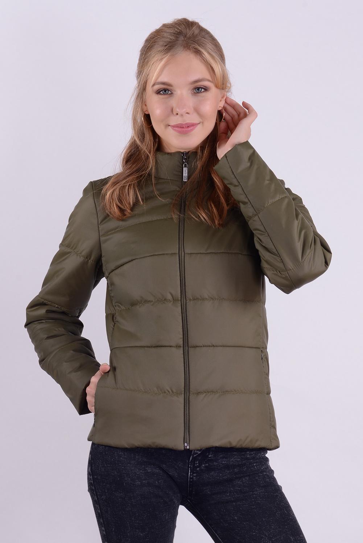 куртка женская 99584 защитный