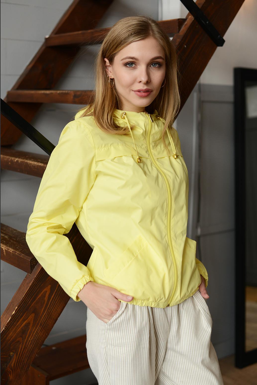 Куртка женская 13670 желтый