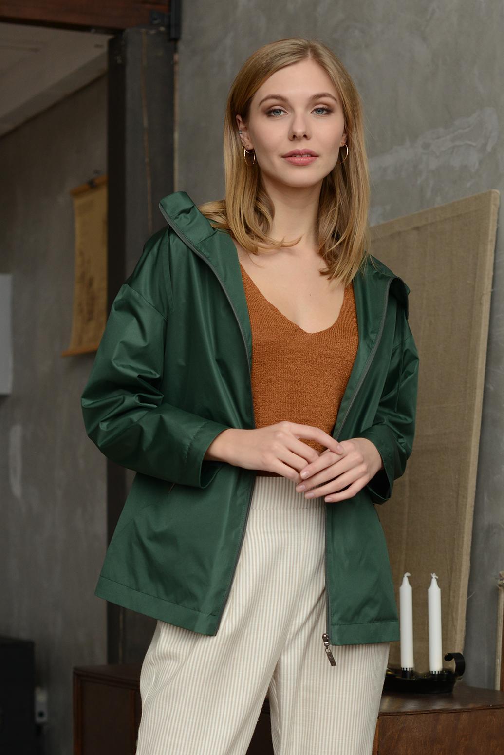 Куртка женская 13669 зеленый