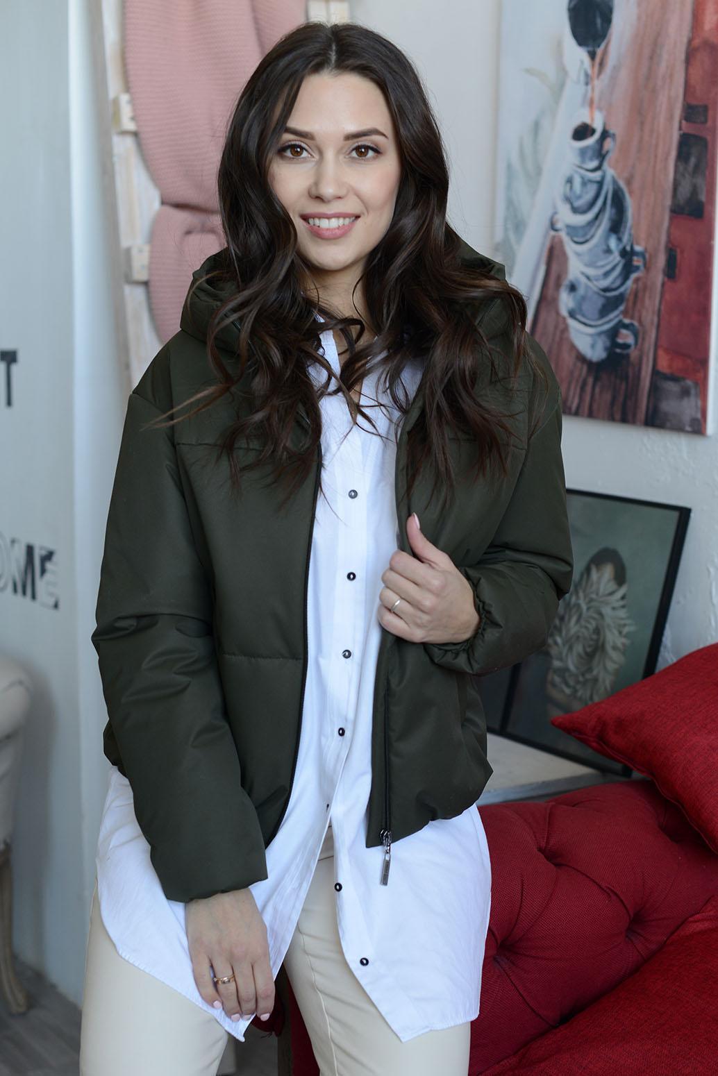 Куртка женская 13658 защитный