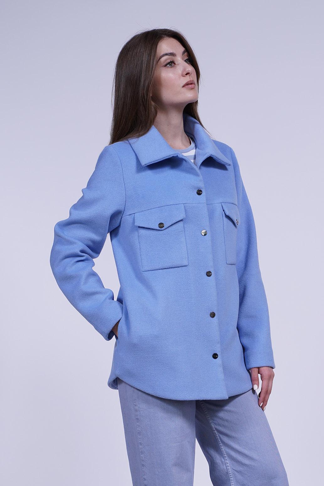 Куртка женская 13701 голубой