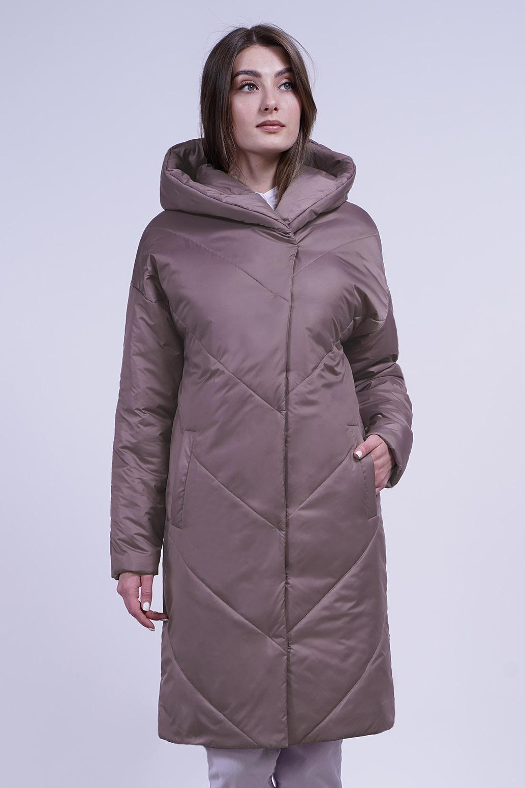 Пальто деми 13700 кофе