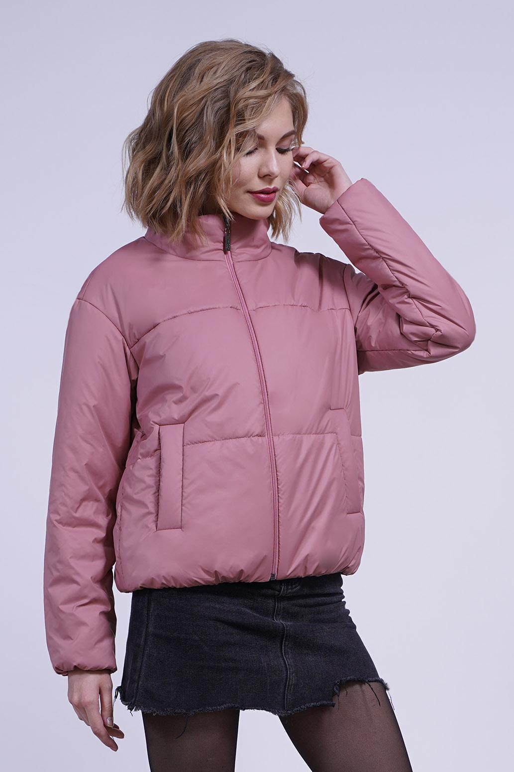Куртка деми 13696 ягодный