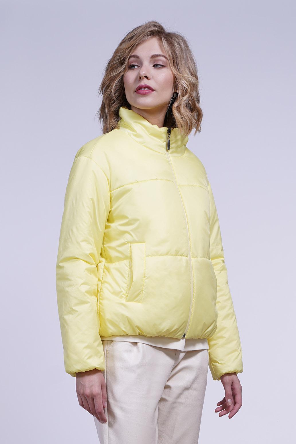 Куртка деми 13696 желтый